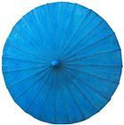 70cm bright blue wax cotton
