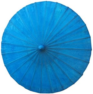 70 cm bright blue wax cotton
