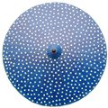 200cm Blue with Cream Spots